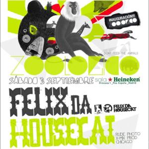 Felix Da Housecat en Zoológico (Madrid)