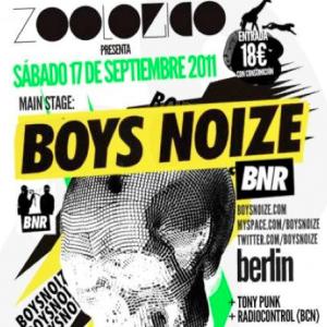Boys Noize en Zoológico (Madrid)