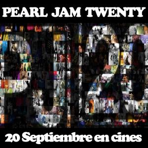 Pearl Jam Twenty, 20 Septiembre en España