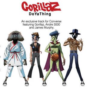Gorillaz/James Murphy/André 3000 – DoYaThing