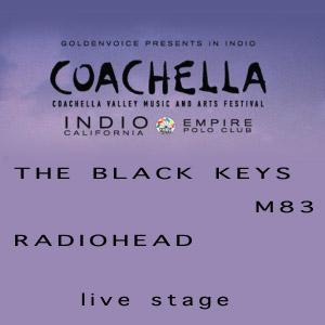 The Black Keys+M83+Radiohead en Coachella Festival
