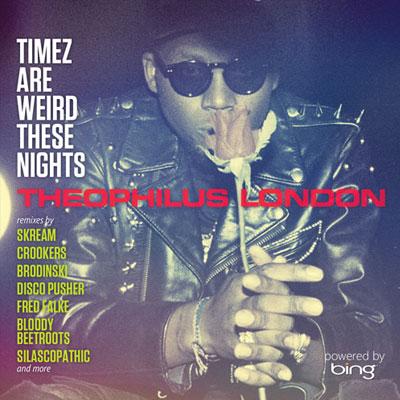 Theophilus London, remixes de su último disco