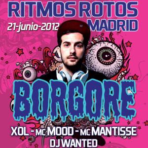 Borgore en Ritmos Rotos (Marco Aldany, Madrid)