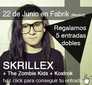 beatMash Magazine & Fabrik regalan 5 entradas para Skrillex
