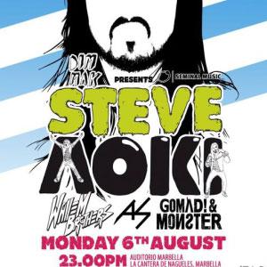 Steve Aoki en Starlite Festival 2012 (Marbella)