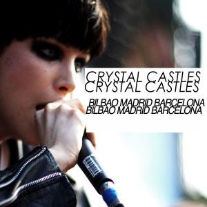 Crystal Castles, conciertos en España