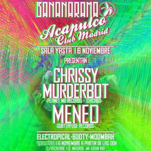 Chrissy Murderbot & Meneo en Madrid