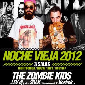 The Zombie Kids – Fiesta Nochevieja 2012