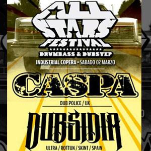 AllStars Festival con Caspa & Dubsidia