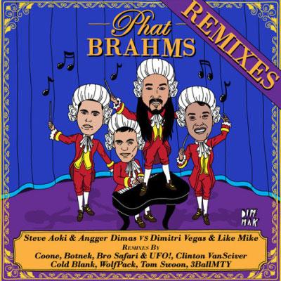 Steve Aoki & Angger Dimas – Phat Brahms Remixes