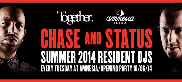 Chase & Status residentes en Together Ibiza