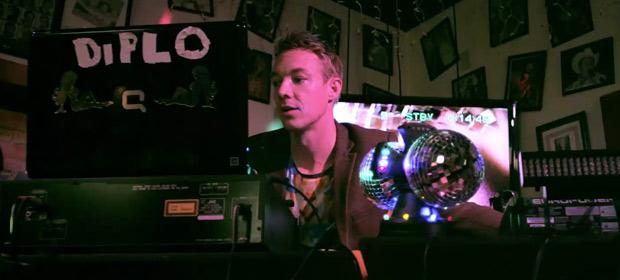 Diplo comparte video de Biggie Bounce