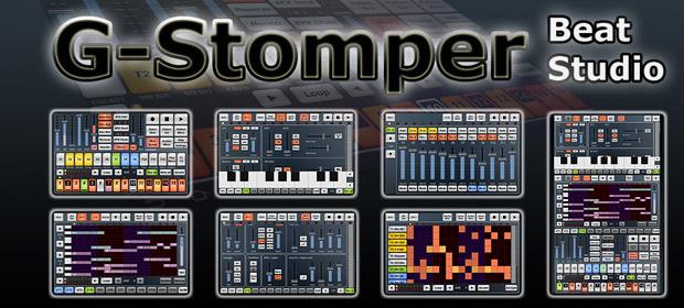 Estudio virtual para Android: G-Stomper Beat Studio