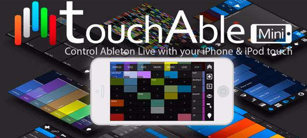 touchAble Mini: Controla Ableton desde iPhone