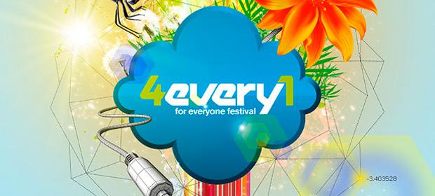 Nuevos artistas se incorporan al cartel de 4Every1 Festival