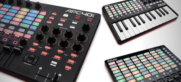 Akai anuncia tres nuevos controladores APC40 MKII, APC Key 25 y APC Mini