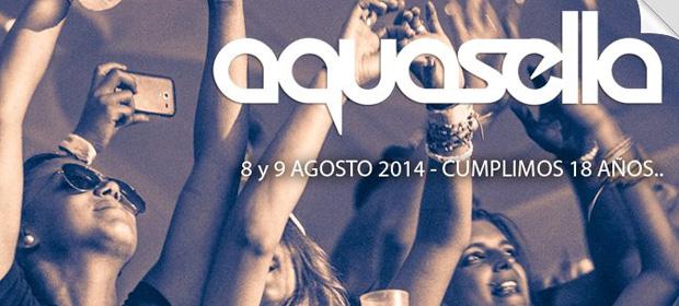 Primer avance del Aquasella Fest 2014