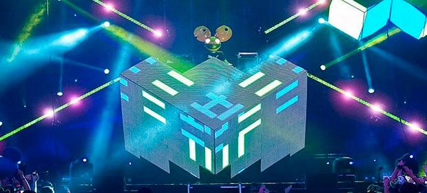 Un DJ imita el diseño del 'Cubo' de deadmau5