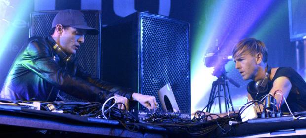 deadmau5 Vs. Richie Hawtin Live at SXSW 2013