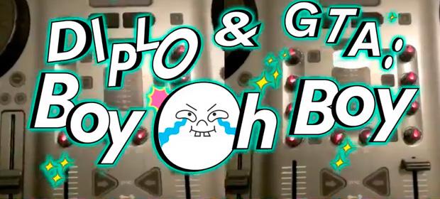 """Video de Diplo & GTA """"Boy Oh Boy"""""""