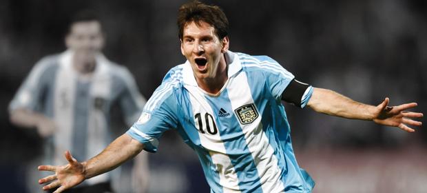 Messi rumbo al Mundial de Brasil con música electrónica