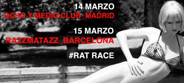 Conciertos de Najwa en Madrid y Barcelona