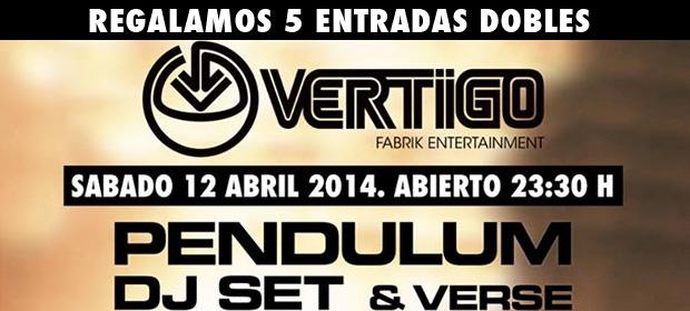 Regalamos 5 Entradas Dobles para Pendulum en Vértigo (Fabrik – Madrid)