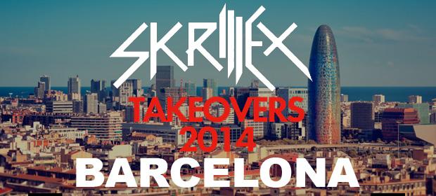 Skrillex tomará Barcelona