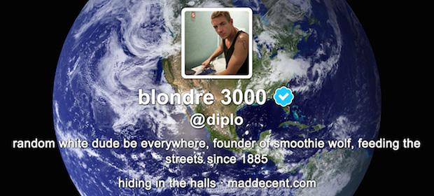 Diplo – Random White Dude Be Everywhere