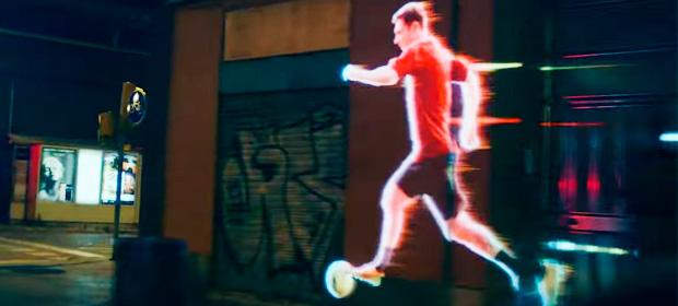 Lo nuevo de Rustie en el spot de Adidas protagonizado por Messi