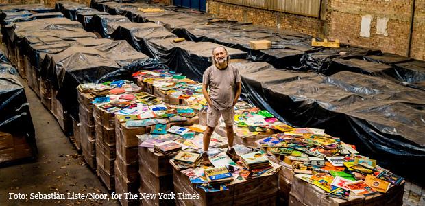 El mayor coleccionista de vinilos del mundo