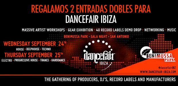 Regalamos 2 Entradas Dobles para Dancefair Ibiza 2014
