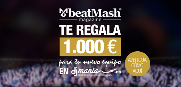 beatMash Magazine te regala 1.000€ en DJMania