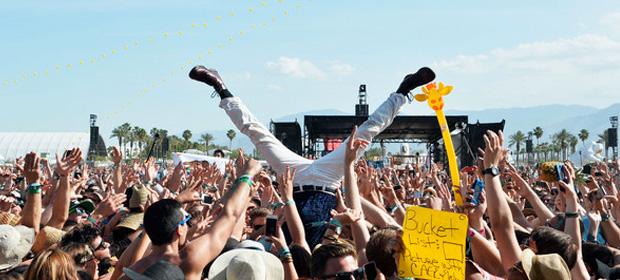 La gente que va a festivales es más feliz, según un estudio