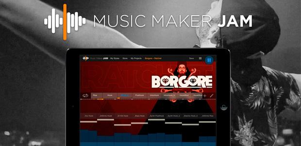 """Borgore quiere que le hagas un remix de """"Ratchet"""" con Music Maker Jam"""