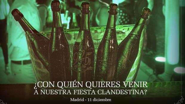 Alhambra Reserva 1925 te invita a su fiesta clandestina en Madrid