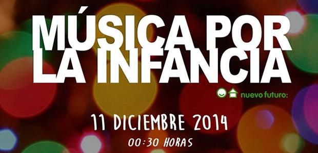 Electrónica solidaria, gala #MúsicaPorLaInfancia