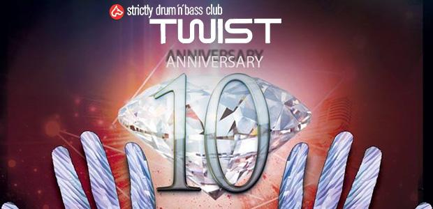 10 años de drum and bass en Twist (Madrid)