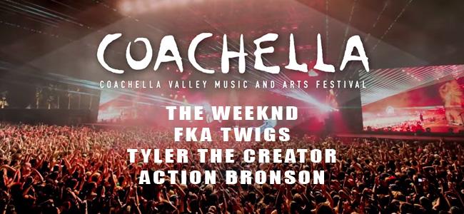 Actuaciones de The Weeknd, FKA twigs, Tyler the Creator y Action Bronson en Coachella 2015
