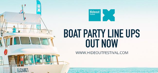 """Hideout Festival 2015 confirma los artistas de su """"Boat Party"""""""