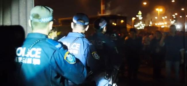 La policía disuelve una rave de drum and bass