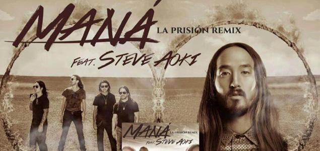 Ya está aquí el remix de Steve Aoki a Maná