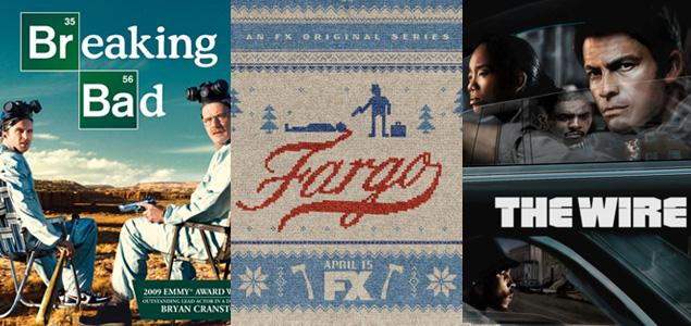 Raking de las 20 mejores series de ficción
