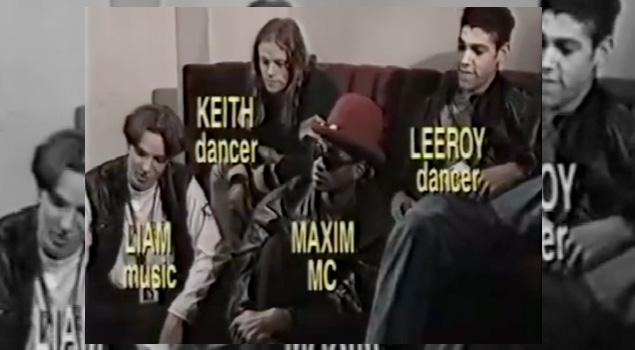 The Prodigy en plena acción en 1992