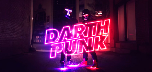 "Daft Punk y Star Wars se fusionan en ""Darth Punk – The Funk Awakens"""