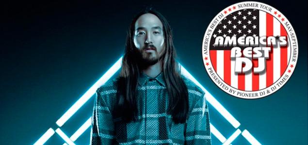 Steve Aoki nombrado mejor DJ americano