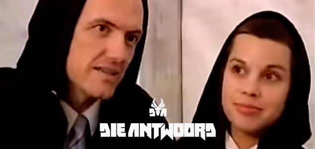 NINJA & Yo-Landi antes de Die Antwoord