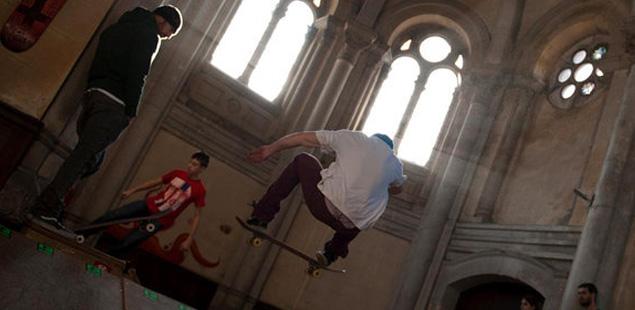 "La ""Iglesia Skatepark"" será transformada por Okuda"