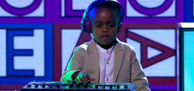 """El DJ de 3 años DJ Arch gana el concurso """"Got Talent"""""""