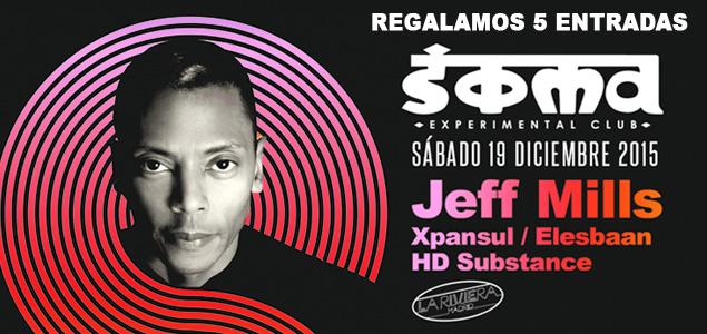 Regalamos 5 entradas para ver a Jeff Mills en Soma (Madrid)